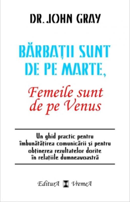 Recenzie Bărbaţii sunt de pe Marte, Femeile sunt de pe Venus de John Gray