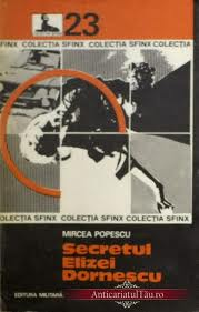 Recenzie Secretul Elizei Dornescu de Mircea Popescu