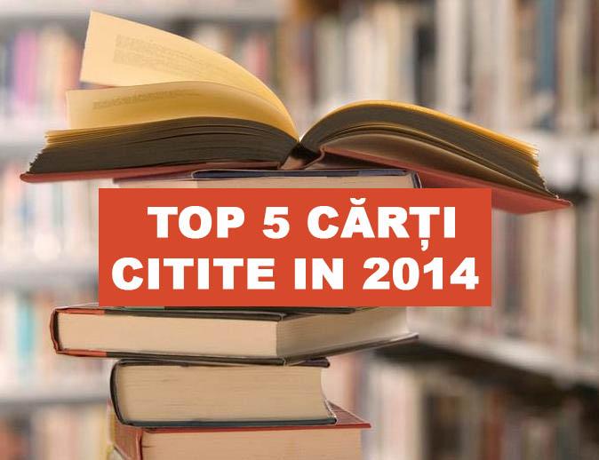 top 5 carti citite in 2014