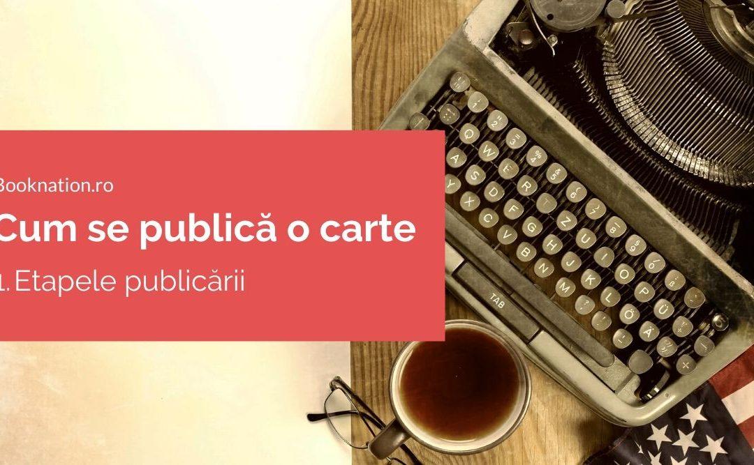 Cum se publică o carte: 1. Etapele publicării