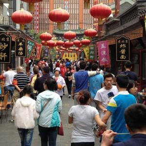 Dan Tomozei Hutongul Wangfujing din Beijing
