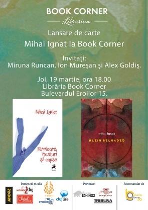 Dublă lansare de carte pentru Mihai Ignat