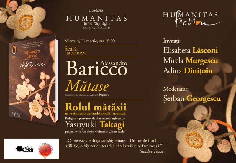 Seară japoneză la Humanitas din Cişmigiu