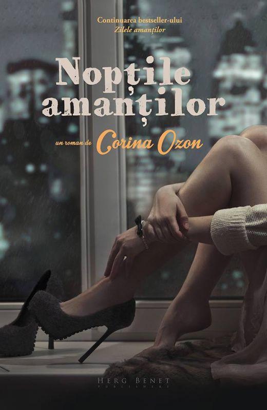 E oficial: Corina Ozon lansează un nou roman – Nopțile amanților