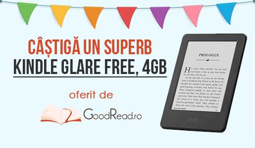CONCURS! Câștigă un Kindle de la GoodRead.ro