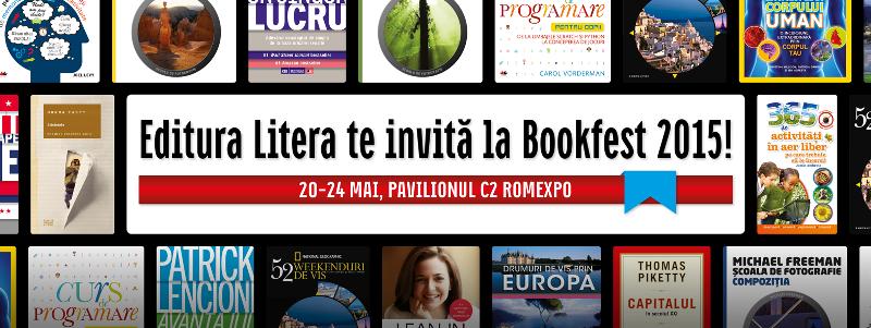 Editura Litera s-a pregătit de Bookfest