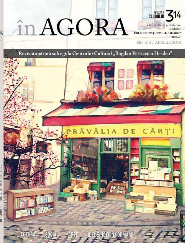 """Lansare de revistă cu iz de cultură – """"În Agora"""""""