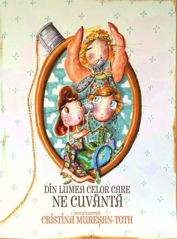 Cristina Mureșan-Toth despre povești, ilustrații și prima ei carte