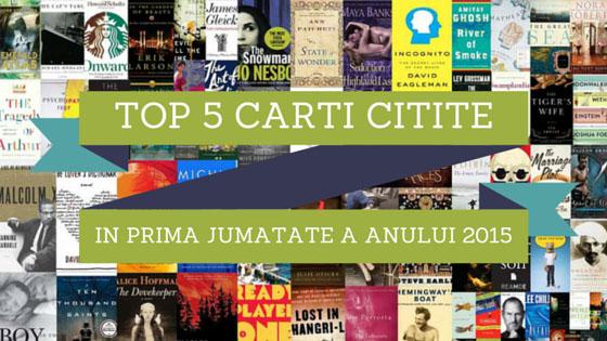 Top 5 cărți citite în prima jumătate a anului 2015 – Diana Popa