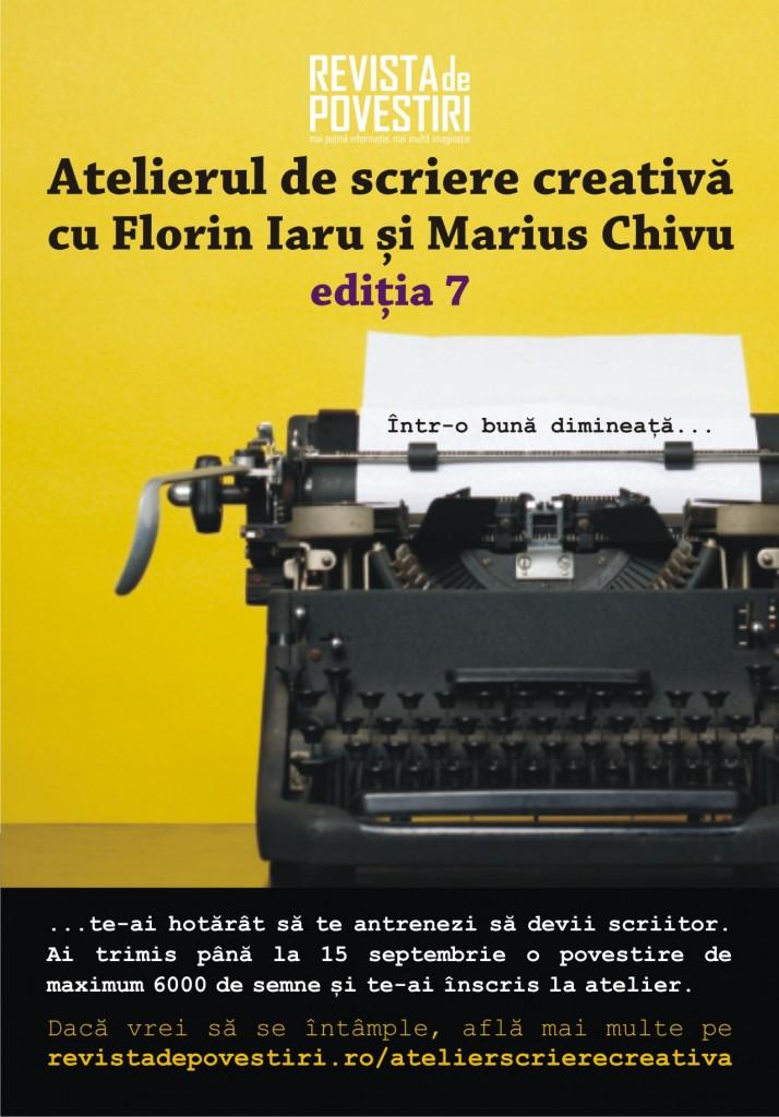 atelier de scriere creativa marius chivu florin iaru