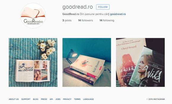 Instagram: ce conturi să urmărești dacă ești pasionat de cărți