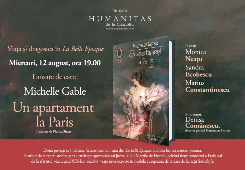 Lansare de carte la Humanitas