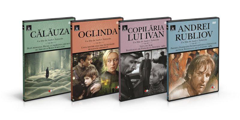 Cinematografia rusă promovată de editura Litera şi Adevărul
