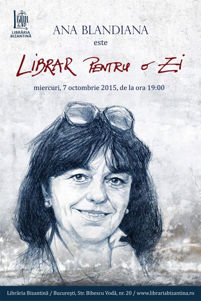 Librar pentru o zi - Ana Blandiana