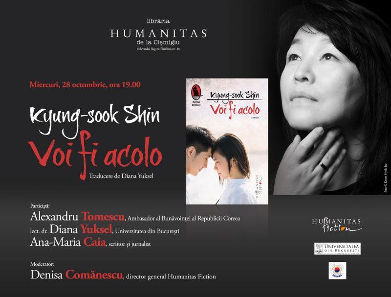 Prezentare de carte coreeană la Humanitas din Cişmigiu