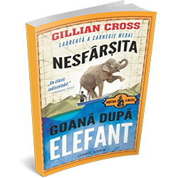 """Recenzie """"Nesfârșita goană după elefant"""" de Gillian Cross"""