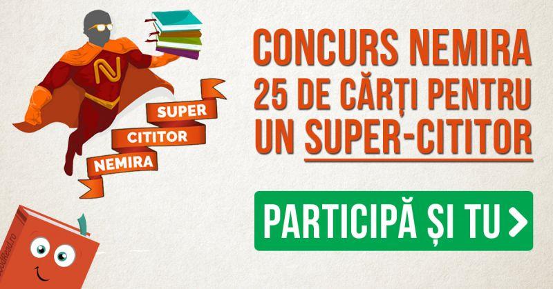 Concurs aniversar Nemira – 25 de cărți pentru un Super-cititor