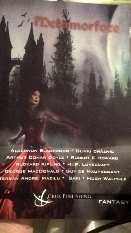 Recenzie Metamorfoze de Algernon Blackwood, Oliviu Crâznic