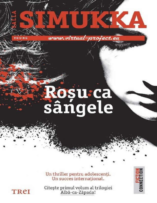 """Recenzie """"Roşu ca sângele"""" (Albă-ca-Zăpada #1) de Salla Simukka"""