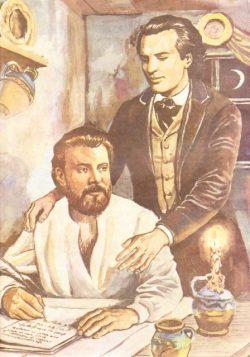 Eterna prietenie dintre Mihai Eminescu şi Ion Creangă