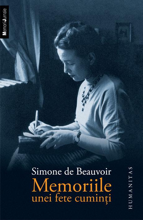"""Recenzie """"Memoriile unei fete cuminți"""" de Simone de Beauvoir"""