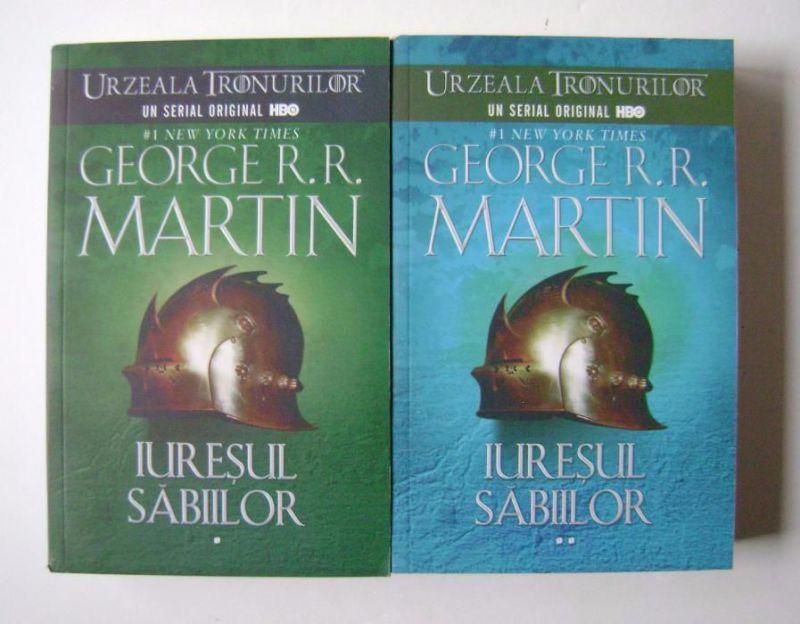 """Recenzie """"Iureşul săbiilor"""" (Cântec de gheaţă şi foc #3) de George R.R. Martin"""
