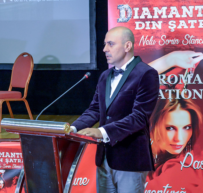 """Interviu cu Nelu Sorin Stancu, autorul romanului """"Diamantul din Șatră"""""""