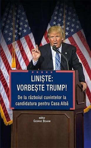 """Recenzie """"Liniște: Vorbește Trump!"""" de George Beahm"""
