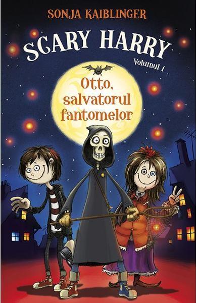 "Recenzie ""Otto, salvatorul fantomelor"" (Scary Harry #1) de Sonja Kaiblinger"