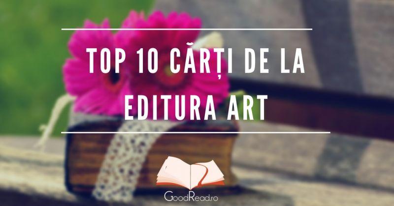 Top 10 cărți de la editura Art