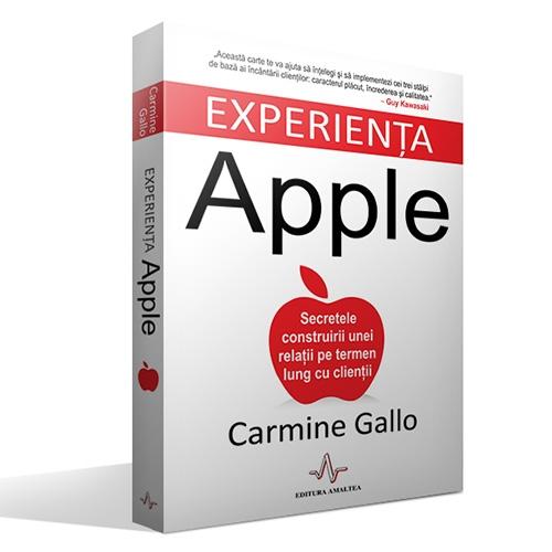 "Recenzie ""Experiența Apple"" de Carmine Gallo"