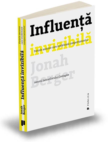 """Recenzie """"Influență invizibilă"""" de Jonah Berger"""