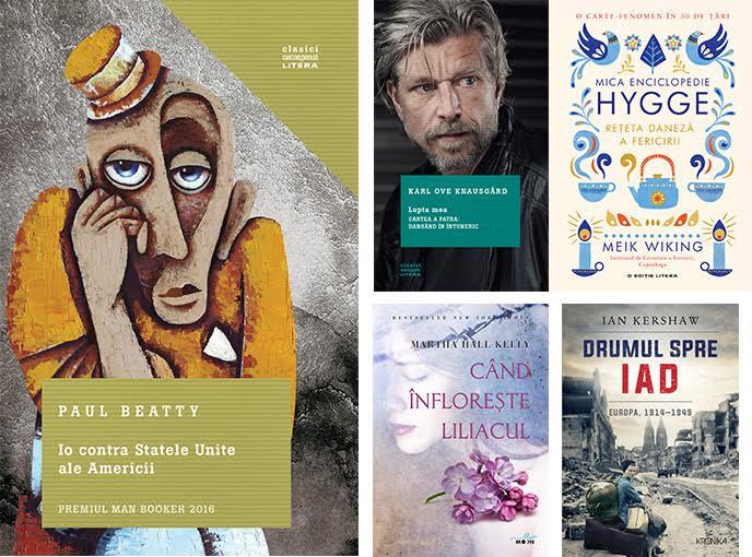 Top 5 preferințe Editura Litera la Bookfest 2017