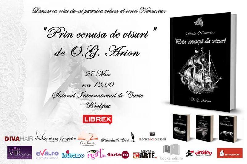 Lansarea volumului patru al seriei Nemuritor de Oana Arion