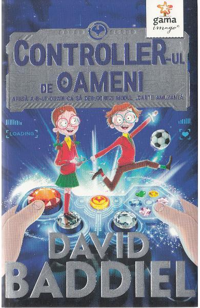 """Recenzie """"Controller-ul de oameni"""" de David Baddiel"""