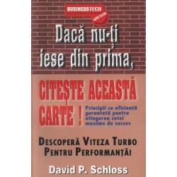 """Recenzie ,,Dacă nu-ți iese din prima, citește această carte!"""" de David P. Schloss"""