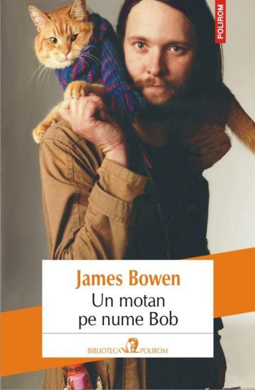 "Recenzie ,,Un motan pe nume Bob"" de James Bowen"