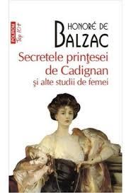 """Recenzie ,,Secretele prințesei de Cadigan și alte studii despre femei"""" de Honoré de Balzac"""