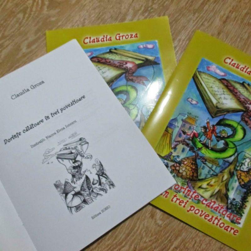 """Recenzie """"Dorințe călătoare în trei povestioare"""" de Claudia Groza"""