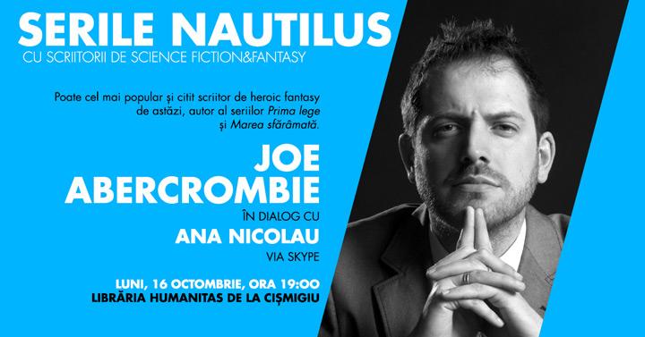 Luni, 16 octombrie, de la ora 19.00, Serile Nautilus