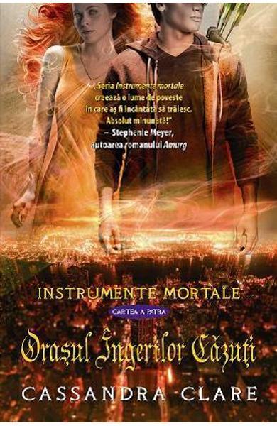 """Recenzie """"Orașul Îngerilor Căzuți"""" (Instrumente Mortale #4) de Cassandra Clare"""