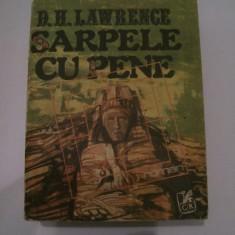 """Recenzie """"Șarpele cu pene"""" de D.H. Lawrence"""