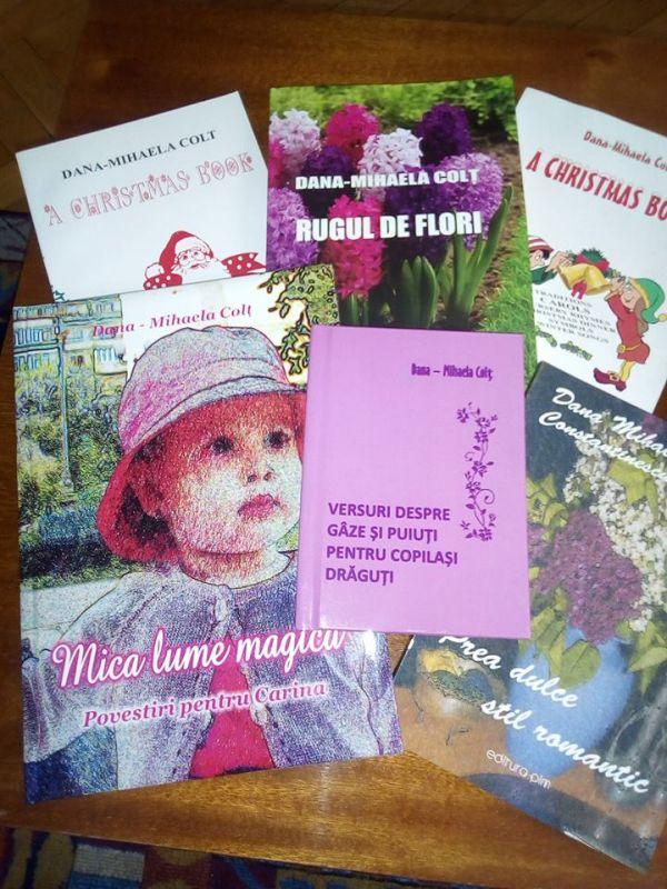 """Interviu cu Dana – Mihaela Colt, autoarea cărții """"Rugul de flori"""""""