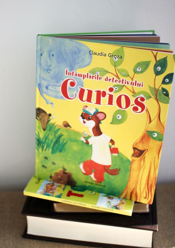 """Interviu cu Claudia Groza, autoarea cărții """"Întâmplările detectivului Curios"""""""