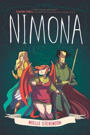 """Recenzie """"Nimona"""" de Noelle Stevenson."""