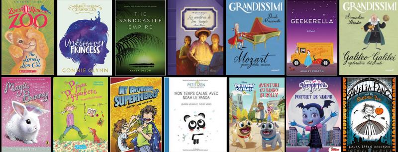 Cărțile pentru copii și tineri de la Litera Mică, în 2018!