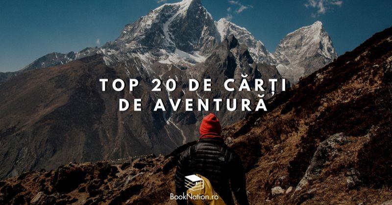 Top 20 de cărți de aventură