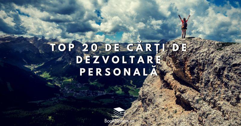 Top 20 de cărți de dezvoltare personală pe care trebuie să le citești