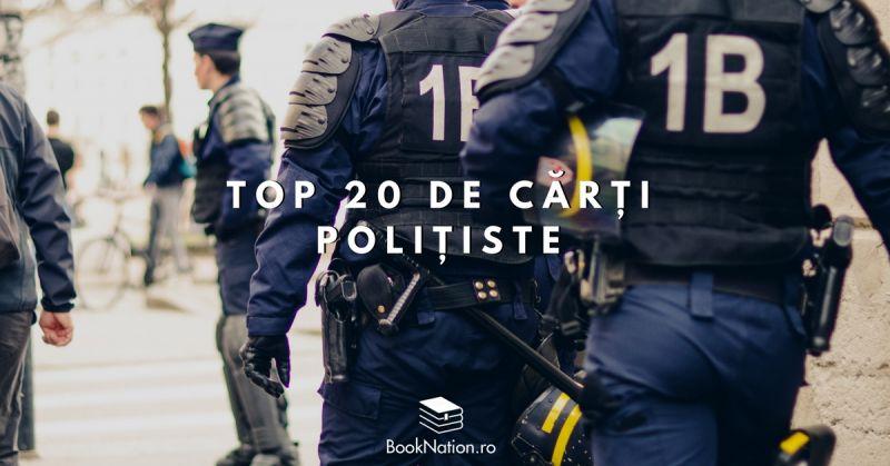 Top 20 de cărți polițiste care te vor ține cu sufletul la gură