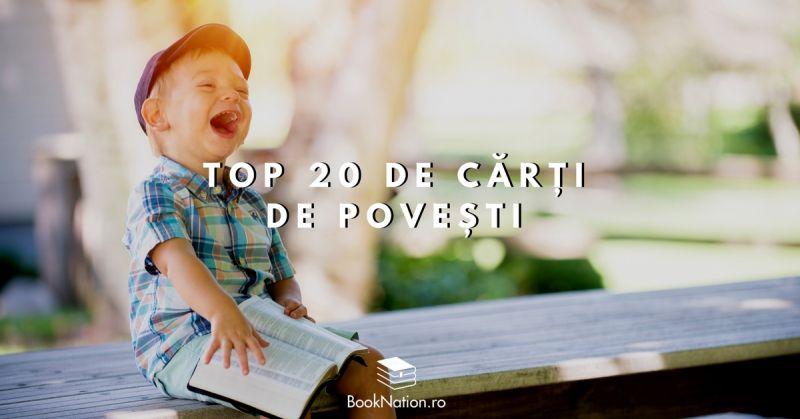 Top 20 de cărți de povești pentru copilași